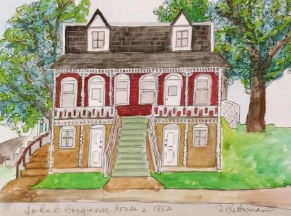 John Borgemeier House (c. 1852)